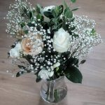 bridal bouquet, gift bouquet, hand tied, delicate,