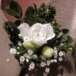wild buttonhole, gathered,