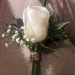 buttonhole, wedding guest, mother of the groom, mother of the bride