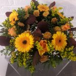 funeral wreath, funeral tribute