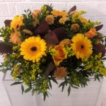 funeral flowers, wreath ring, funeral tribute
