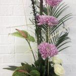 modern arrangement, floral arrangement